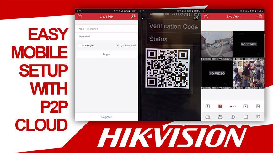 Hikvision Mobile Setup P2P Cloud IVMS-4500