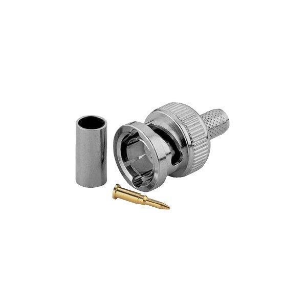 BNC Crimp Plug-Male 3 Piece Connector for RG59 Coax Cable
