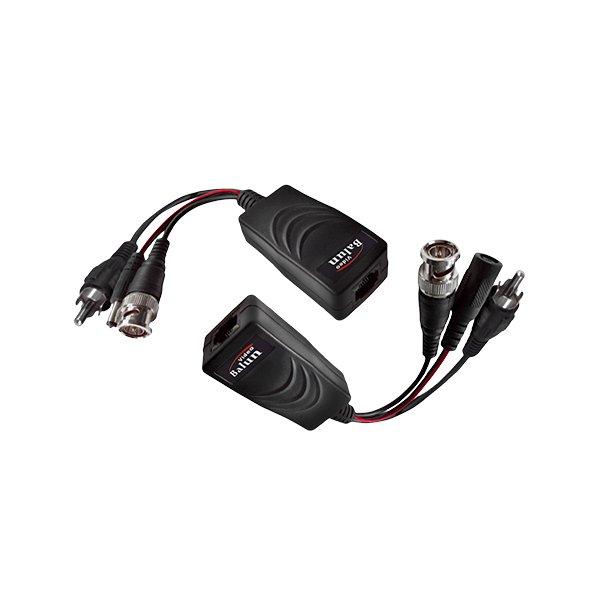 HD Balun – Video + Power + Audio (HD-CVI/TVI/AHD) Up to 440m (PAIR)