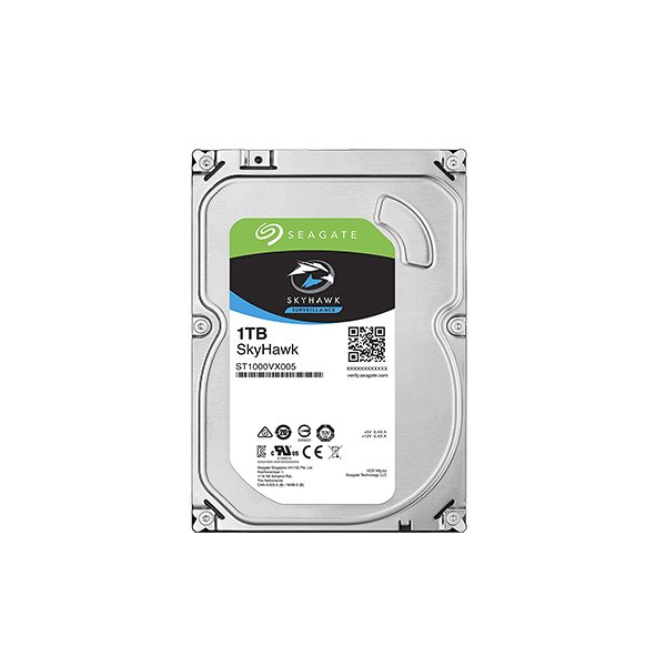 "Seagate Skyhawk 1TB (HDD) 3.5"" Surveillance Hard Drives"