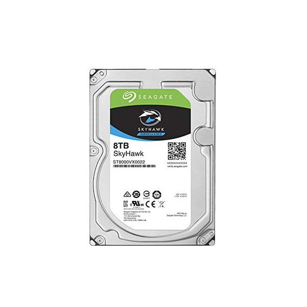 "Seagate Skyhawk 8TB (HDD) 3.5"" Surveillance Hard Drives"