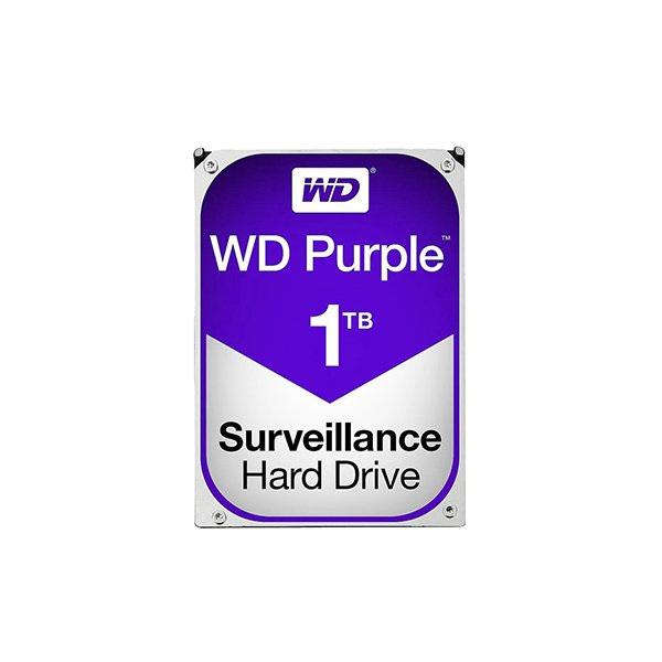 Western Digital Purple 1TB (HDD) 3.5″ Surveillance Hard Drives
