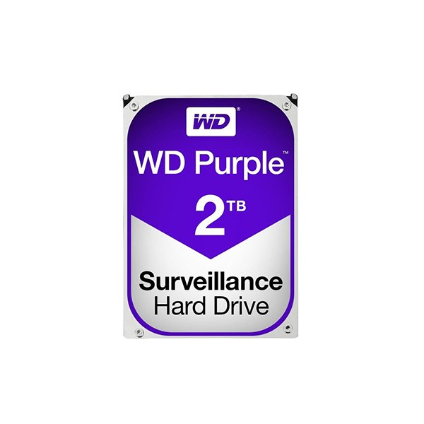 Western Digital Purple 2TB (HDD) 3.5″ Surveillance Hard Drives