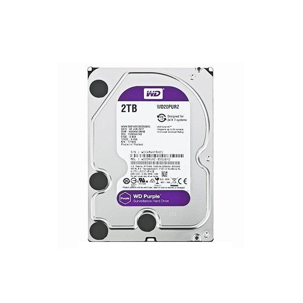 "Western Digital Purple 2TB (HDD) 3.5"" Surveillance Hard Drives"