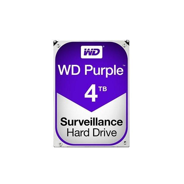 "Western Digital Purple 4TB (HDD) 3.5"" Surveillance Hard Drives"