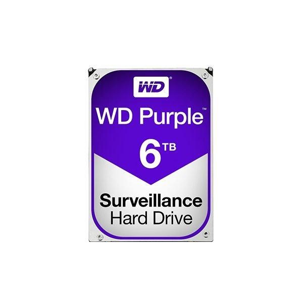 "Western Digital Purple 6TB (HDD) 3.5"" Surveillance Hard Drives"