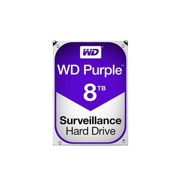 "Western Digital Purple 8TB (HDD) 3.5"" Surveillance Hard Drives"