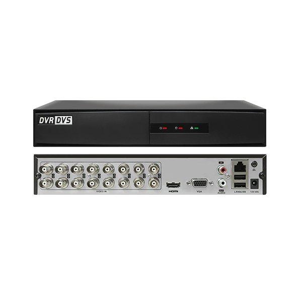HiWatch DVR-216G-F1 2MP Hybrid 16 Channel DVR