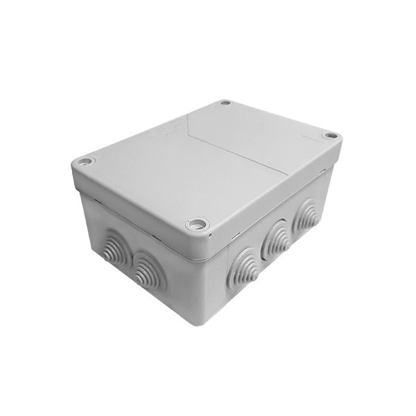 IP55 Weatherproof Grey Large Junction Box Housing 164x119x77mm