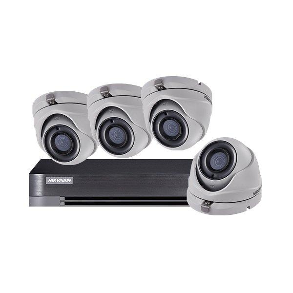 Hikvision CCTV Kit DS-7204HQHI-K1 & 4x DS-2CE56D8T-ITM