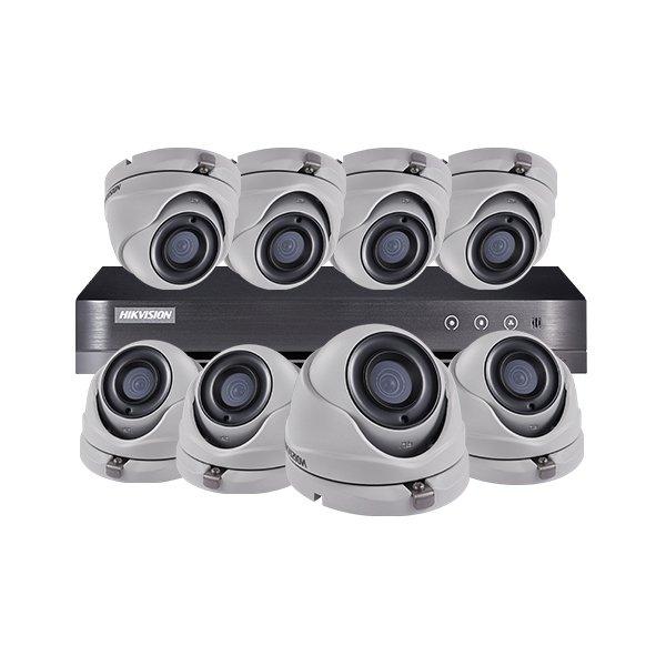 Hikvision CCTV Kit DS-7208HQHI-K1 & 8x DS-2CE56D8T-ITM