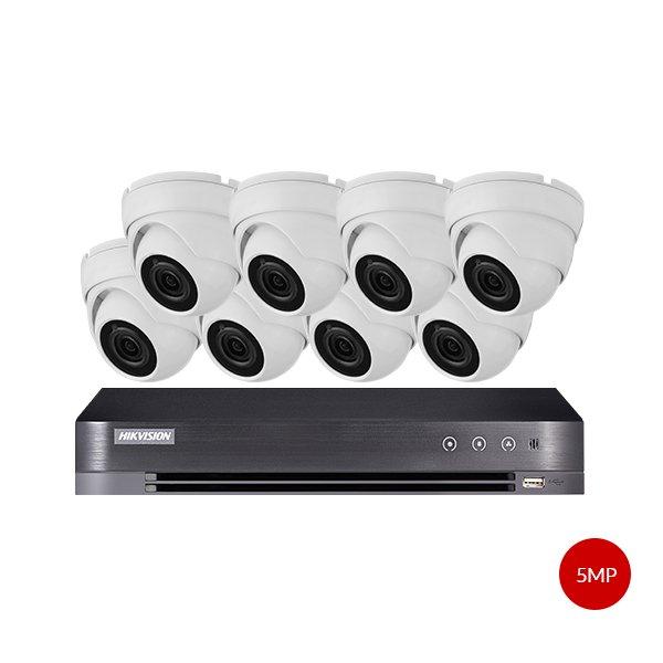 Aveesa 5MP CCTV Kit DS-7216HUHI-K2 & 8x AV-722DXF-W5