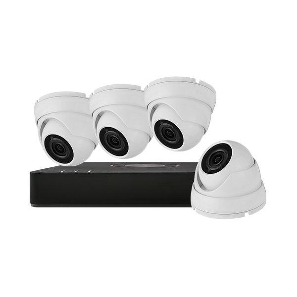 Aveesa CCTV Kit DVR-104G-F1 & 4x AV-522DXF-W2