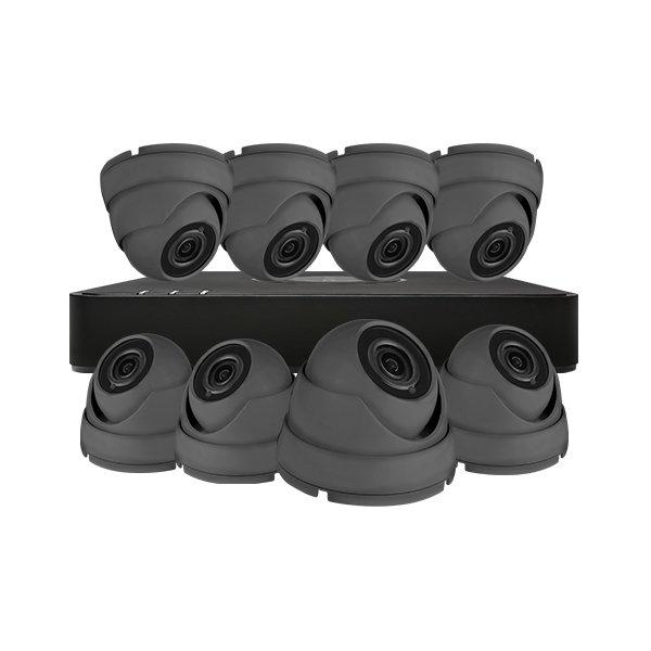 Aveesa CCTV Kit DVR-108G-F1 & 8x AV-522DXF-G2