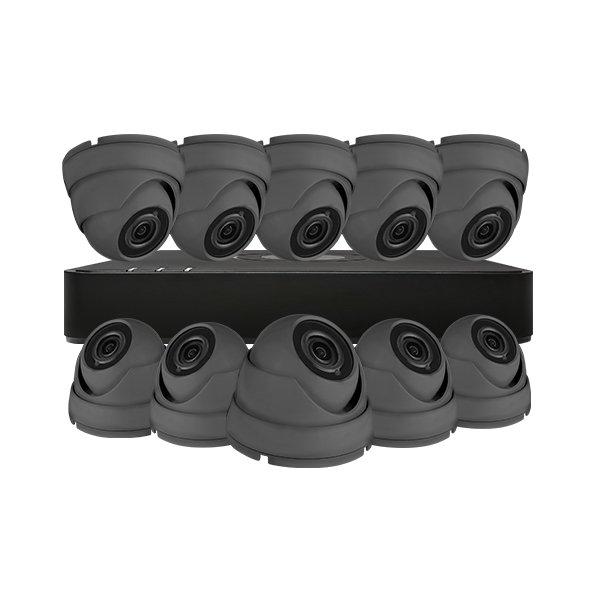 Aveesa CCTV Kit DVR-116G-F1 & 10x AV-522DXF-G2