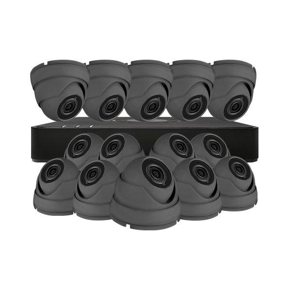 Aveesa CCTV Kit DVR-116G-F1 & 14x AV-522DXF-G2