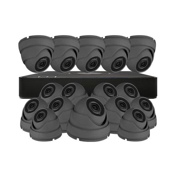 Aveesa CCTV Kit DVR-116G-F1 & 16x AV-522DXF-G2