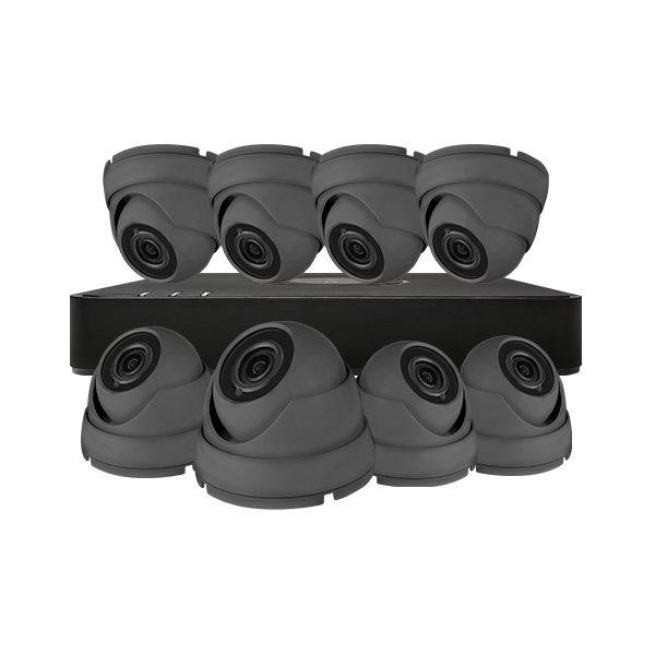 Aveesa CCTV Kit DVR-116G-F1 & 8x AV-522DXF-G2