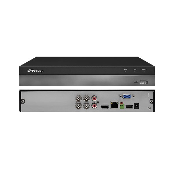 ProLux PXD-5104HS-X1 5MP Penta-brid 4 Channel DVR