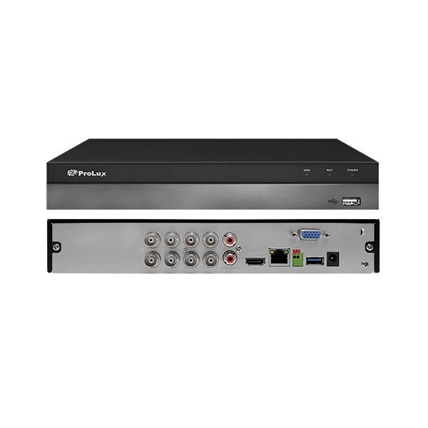 ProLux PXD-5108HS-4K-X1 8MP 4K Penta-brid 8 Channel DVR