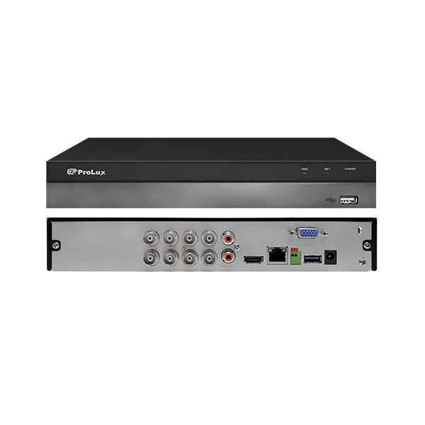 ProLux PXD-5108HS-4K-X1 8MP 4K Penta-brid 8 Channel DVR